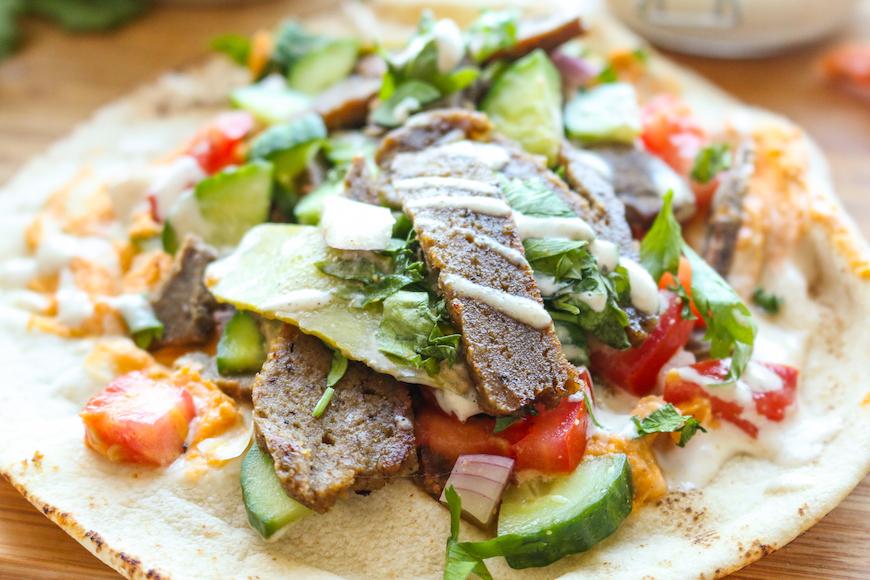 vegetarian Middle Eastern food