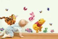 Disney Winnie the Pooh Tigger Piglet Friends Nursery Wall ...