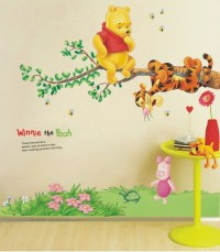 Winnie The Pooh Tree Branch Large Nursery Wall Sticker ...