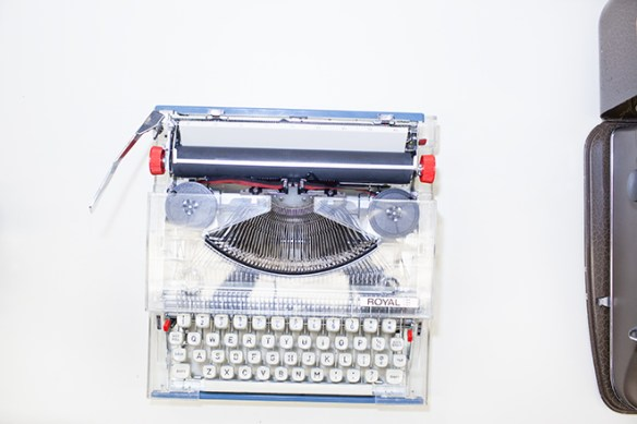 Royal Clear Typewriter