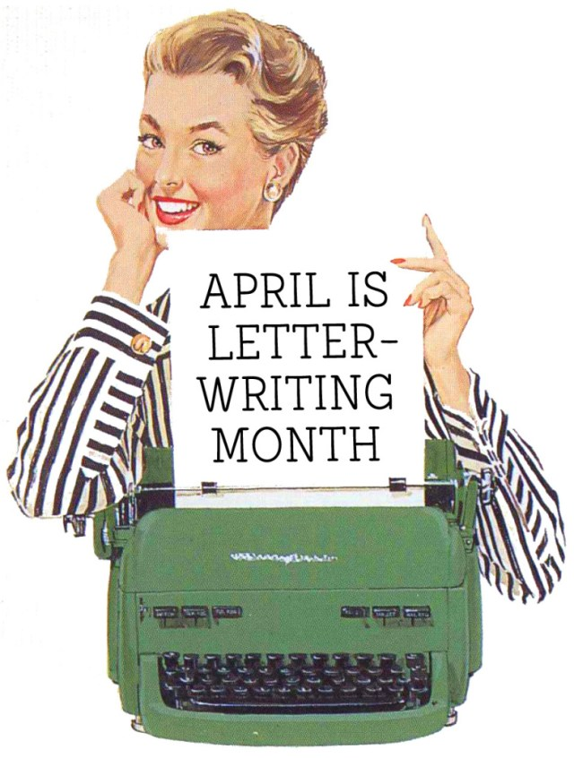 national letter writing month april is national letter writing month the well 23752