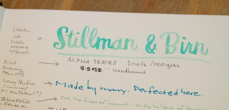 Stillman & Birn Sketchbook