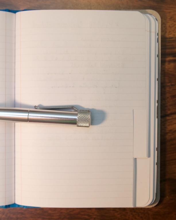 Reverse of Explorer Notebook writing sample