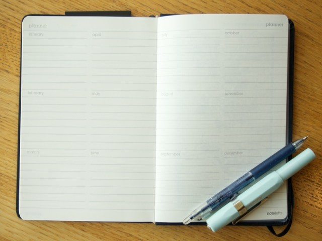 Noteletts L6 Ruled Planner Pages