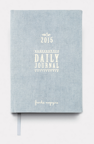 Frankie Diary 2015 cover