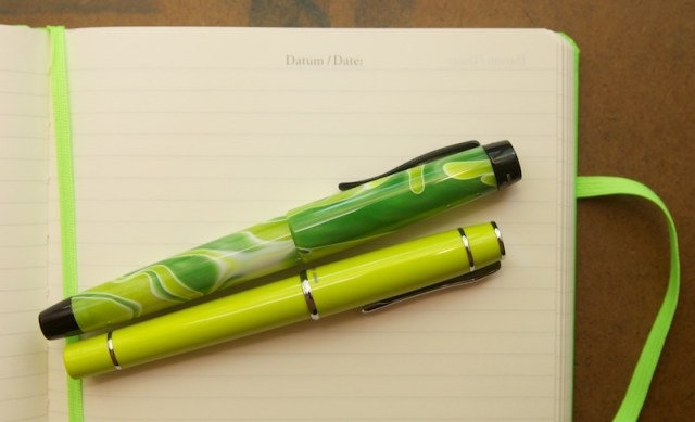 Leuchtturm 1917 Neon Green Notebook