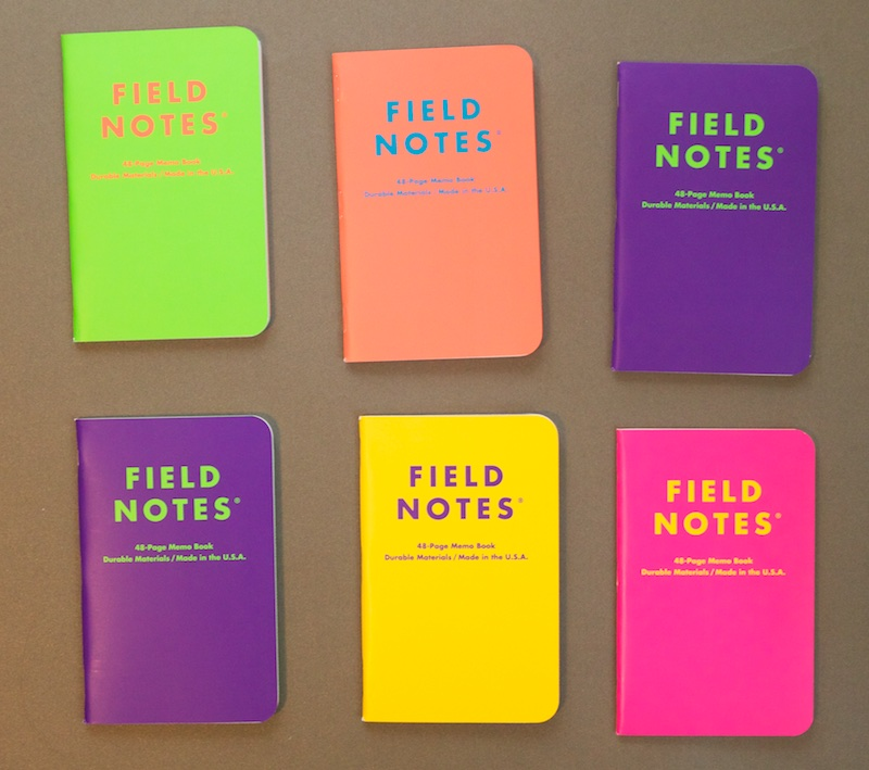 Field Notes Unexposed EXPOSED