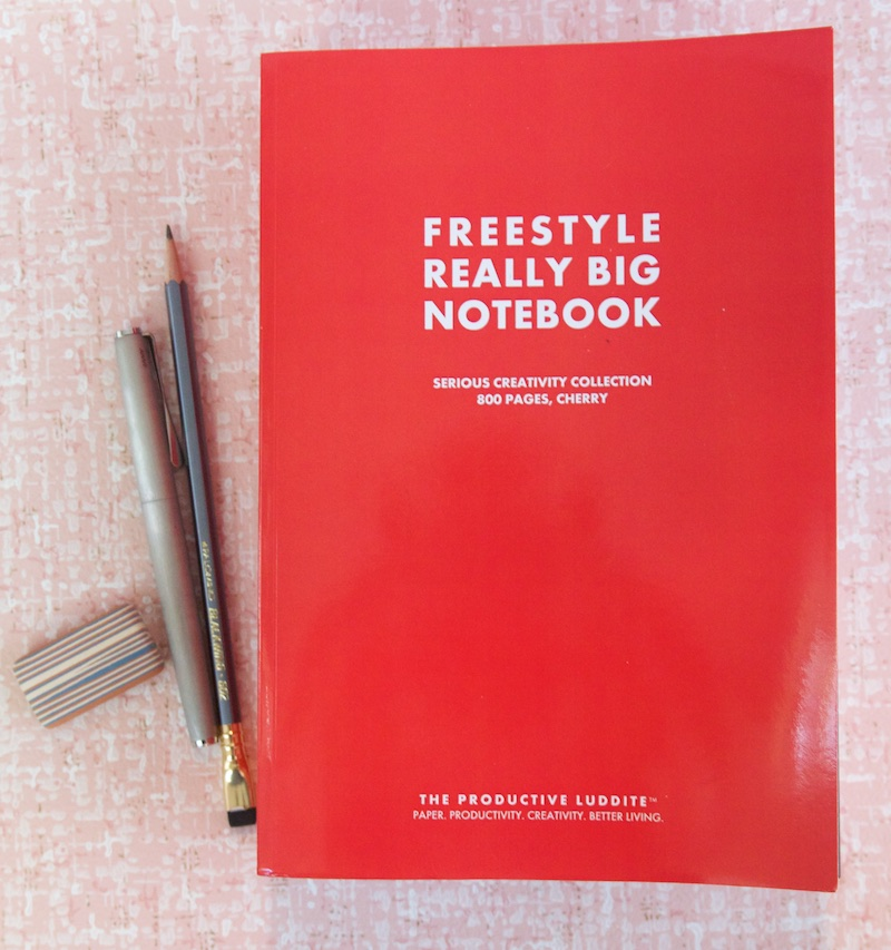 Productive Luddite Freestyle Really Big Notebook
