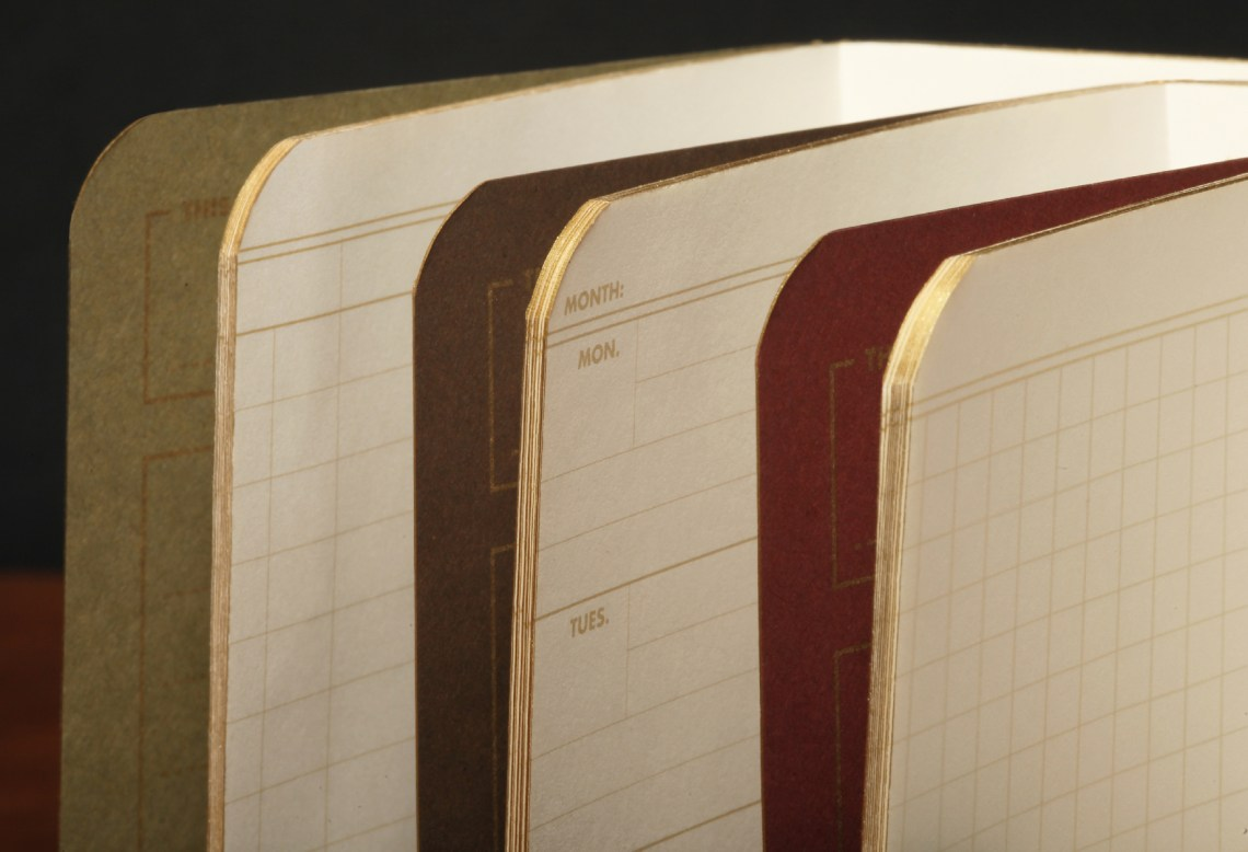 Field Notes Ambition gold edges
