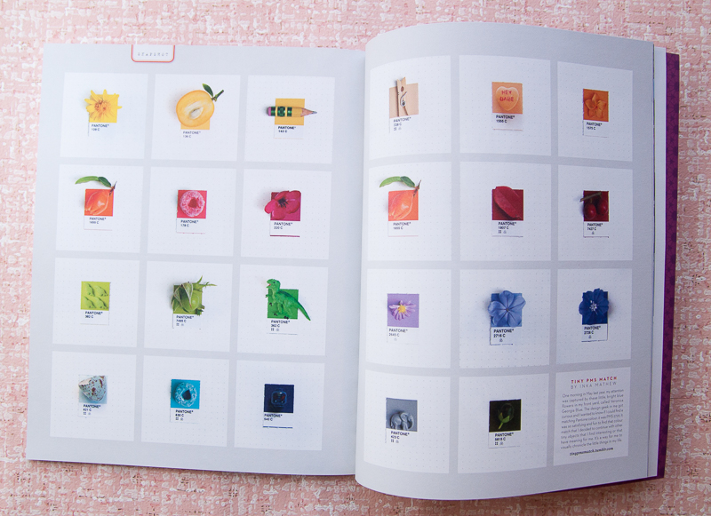 Uppercase Pantone swatches