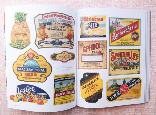 Uppercase Vintage Labels
