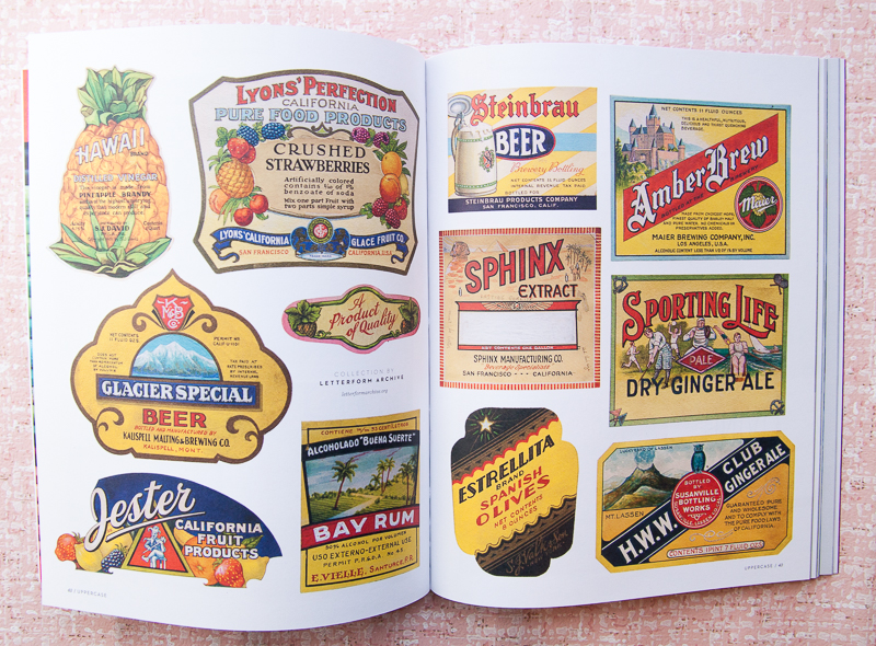 Uppercase Vintage Labels