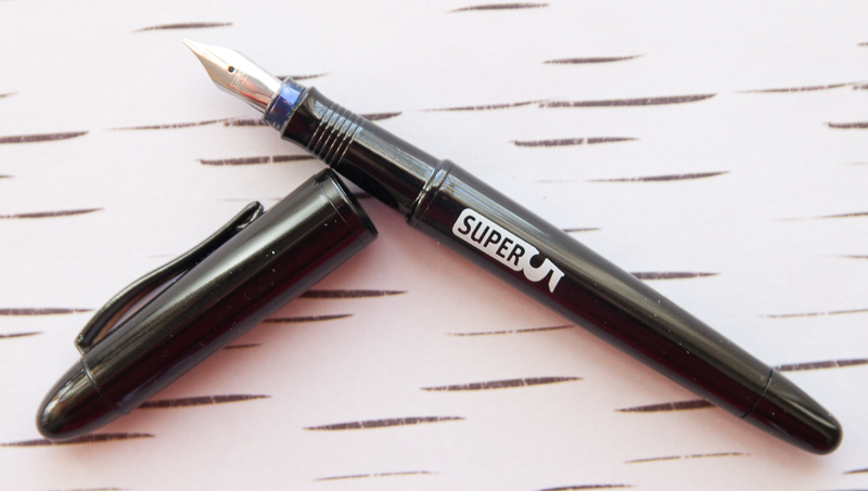 super5 fountain pen in black