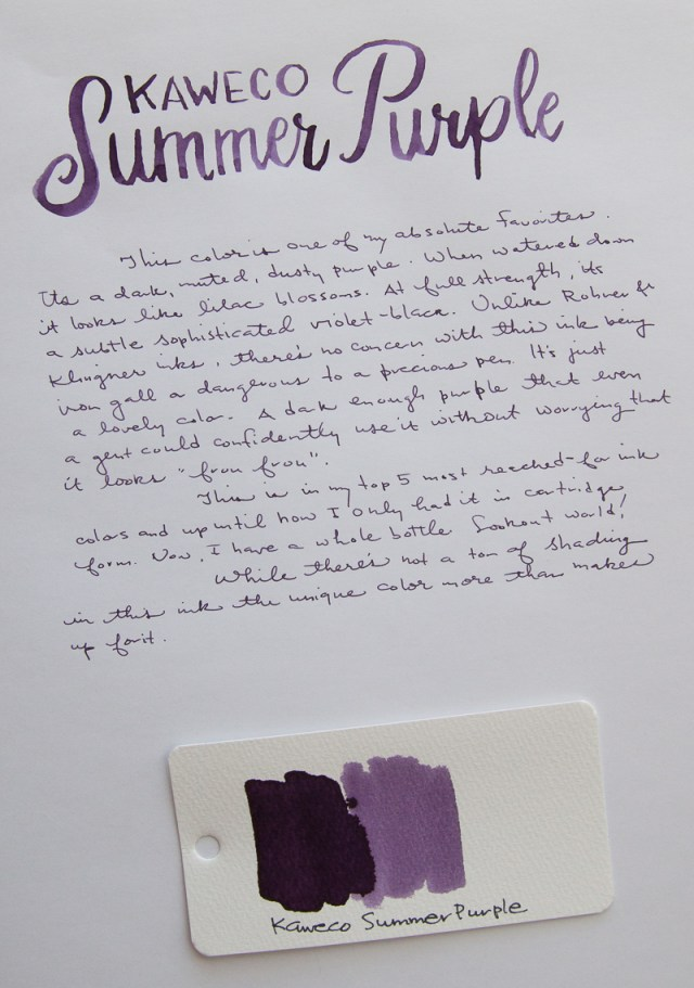 Kaweco Summer Purple Ink