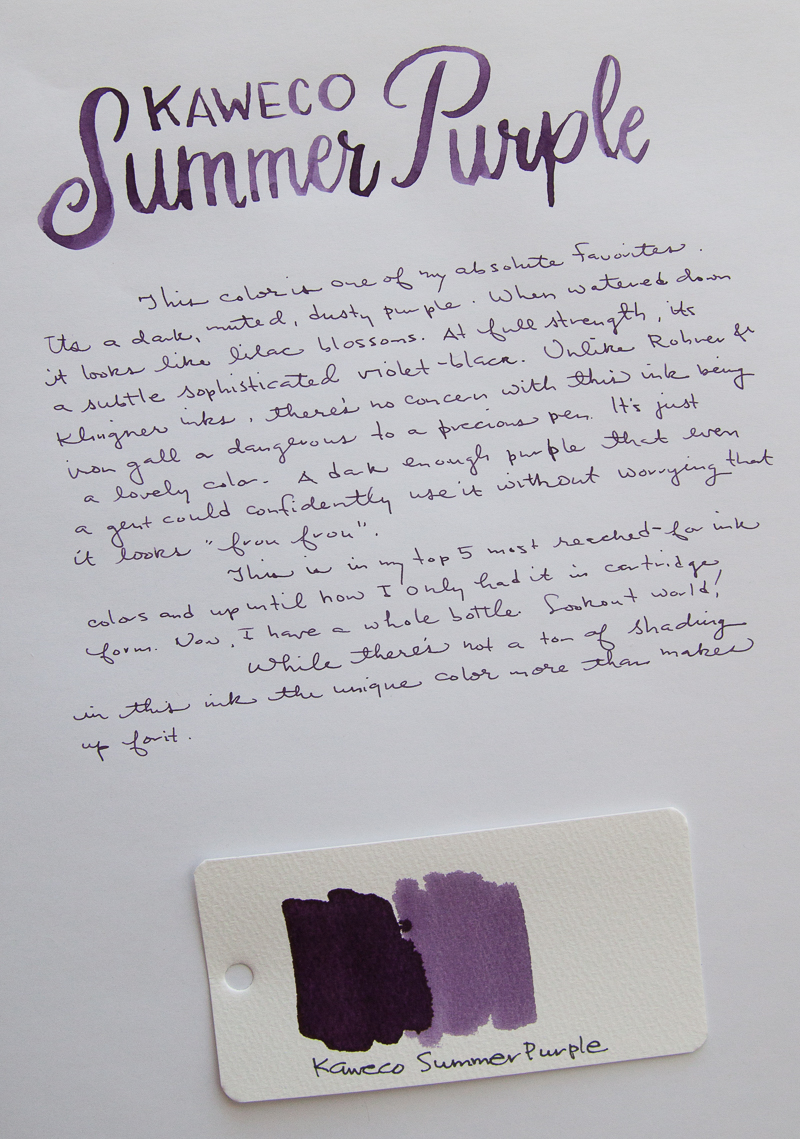 Kaweco Summer Purple Ink