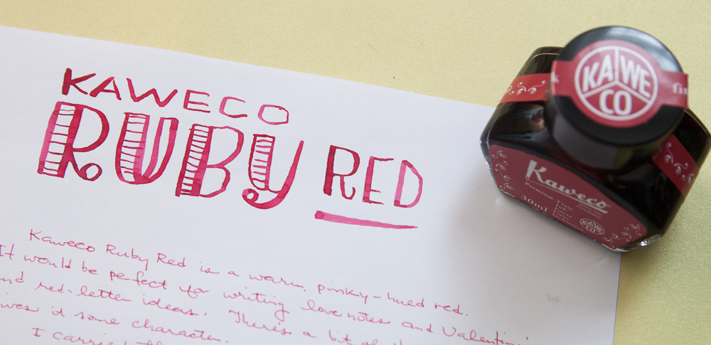 Kaweco Ruby Red Ink