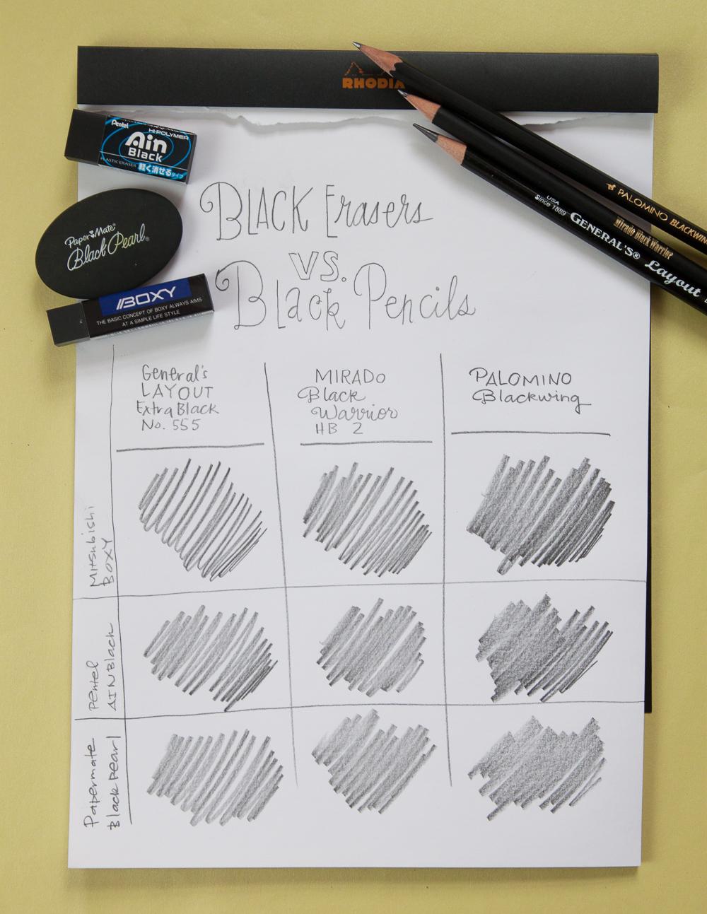 Black Erasers