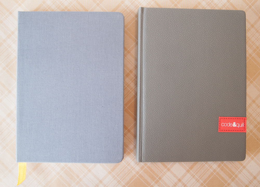 Baron Fig Confidant Maker Edition compared to Code & Quill Origin