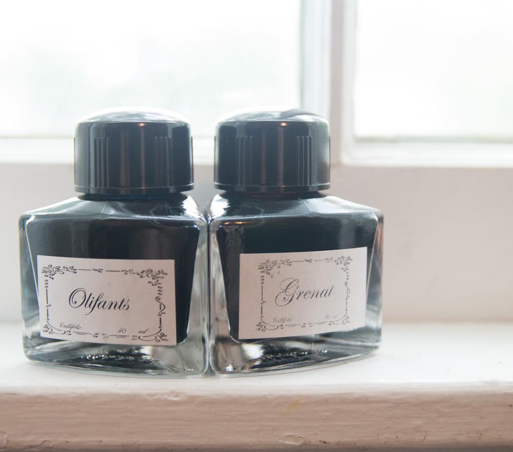 Callifolio ink bottles