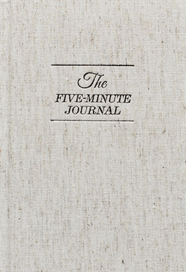 The 5-Minute Journal - The Well-Appointed Desk