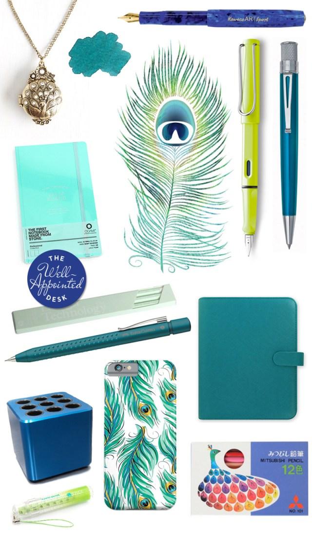 Fashionable Friday: peacock