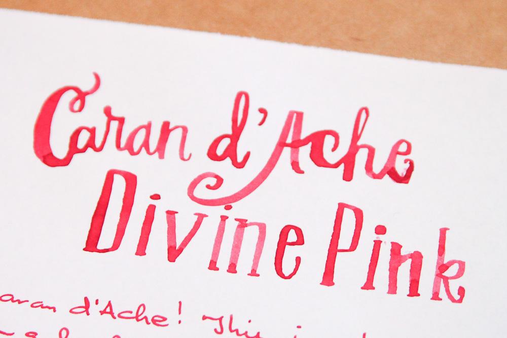Caran d'Ache Divine Pink Ink