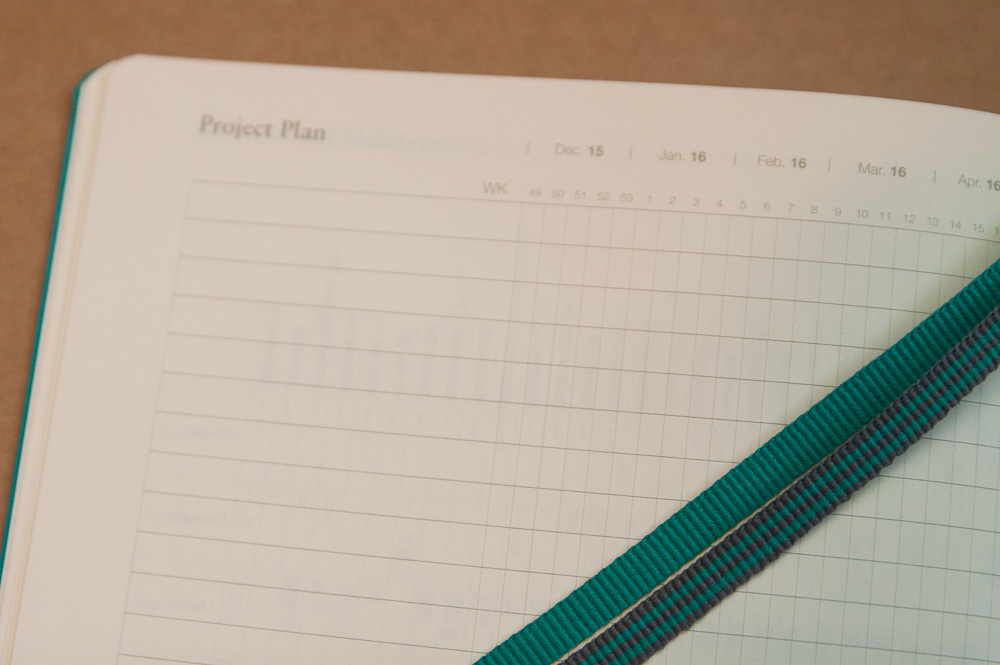 Leuchtturm1917 2016 planner project planner section