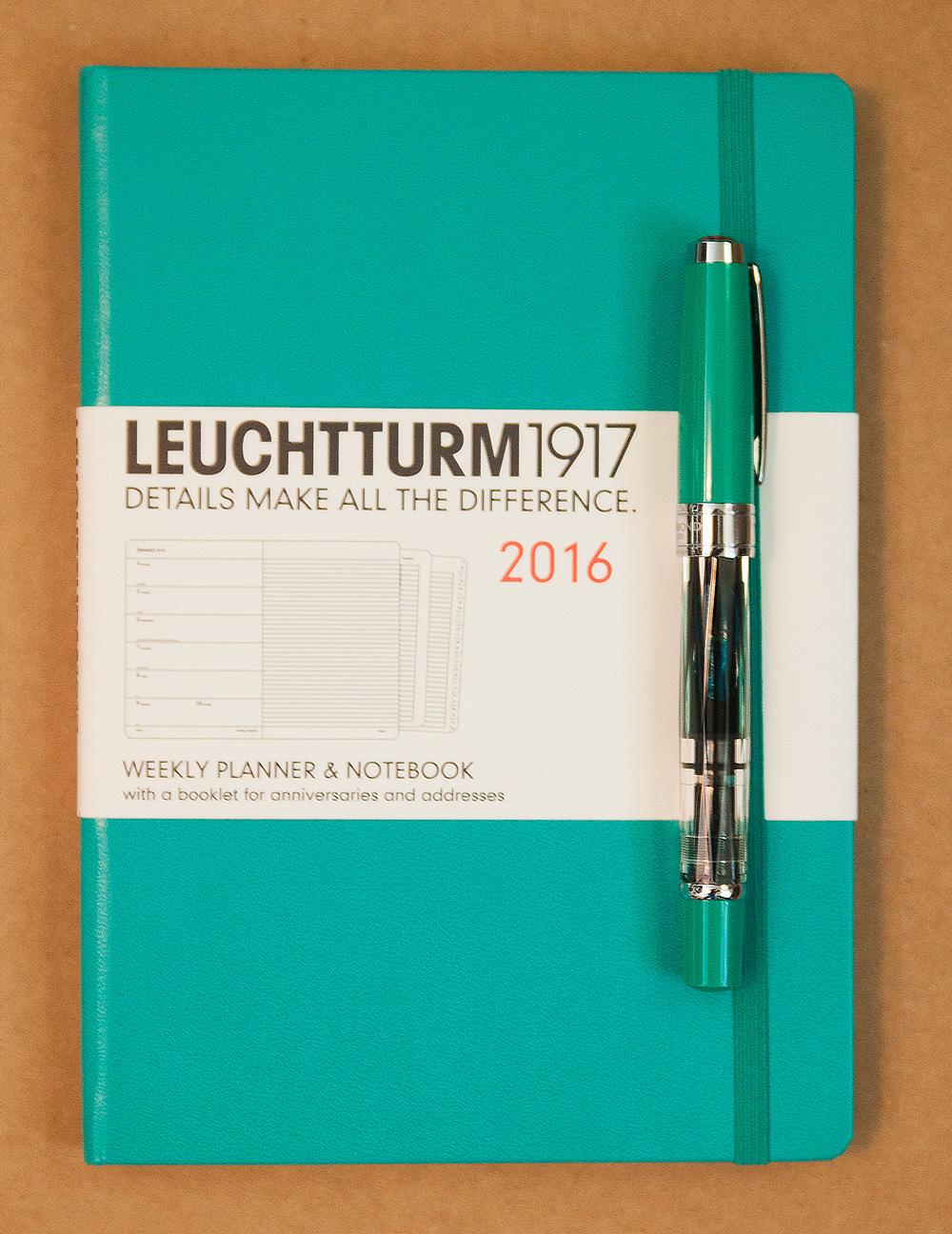 Planner Review Leuchtturm1917 2016 Planner  The Well