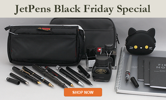JetPens Black FRiday Sales