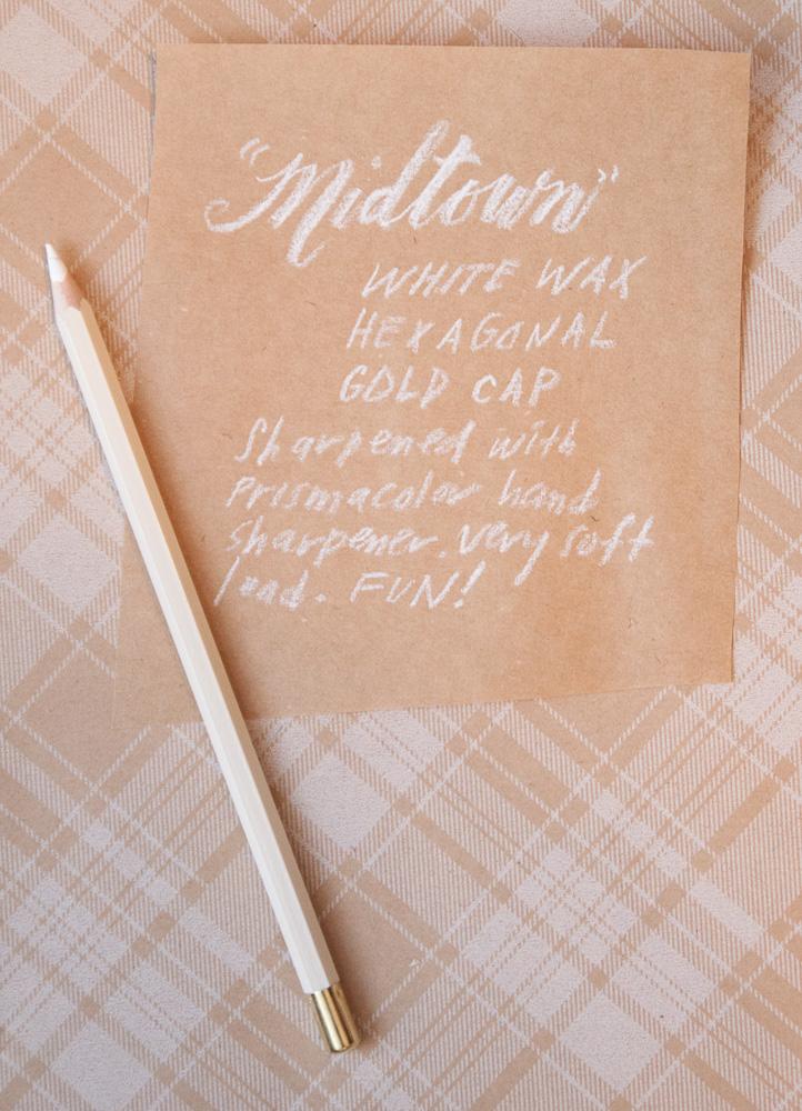 Pencil Factory Nashville Pencil Set White Wax Pencil