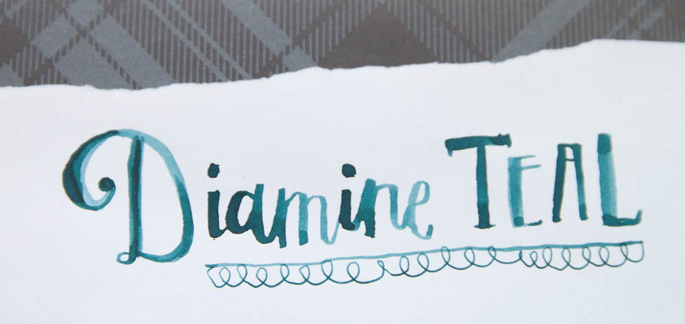 Diamine Teal header