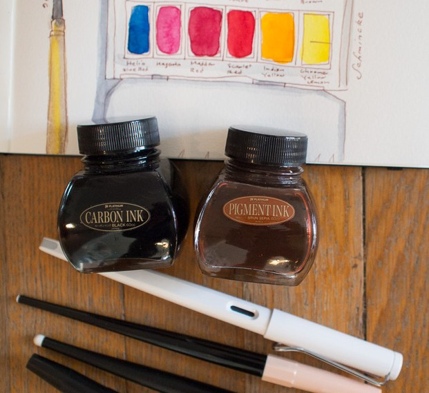 Fountain Pens for Sketching