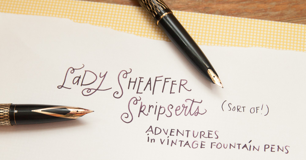 Sheaffer Lady Skripsert & Imperial