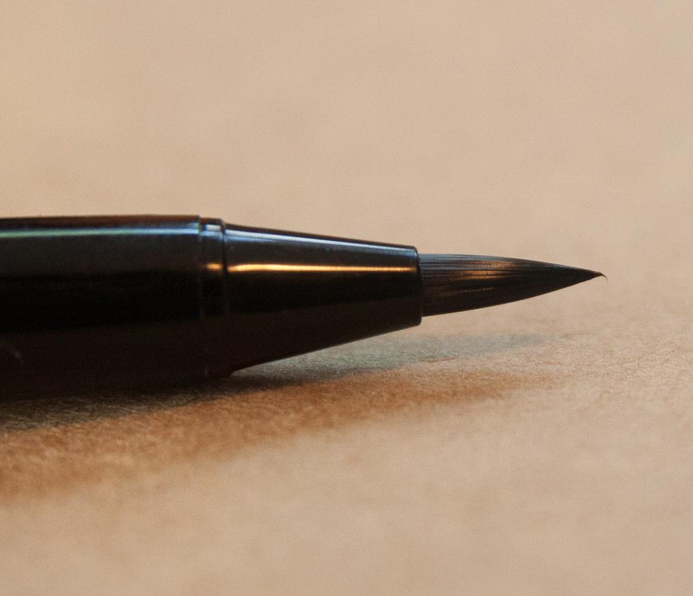 Platinum Maki-E Brush Pen Close-up