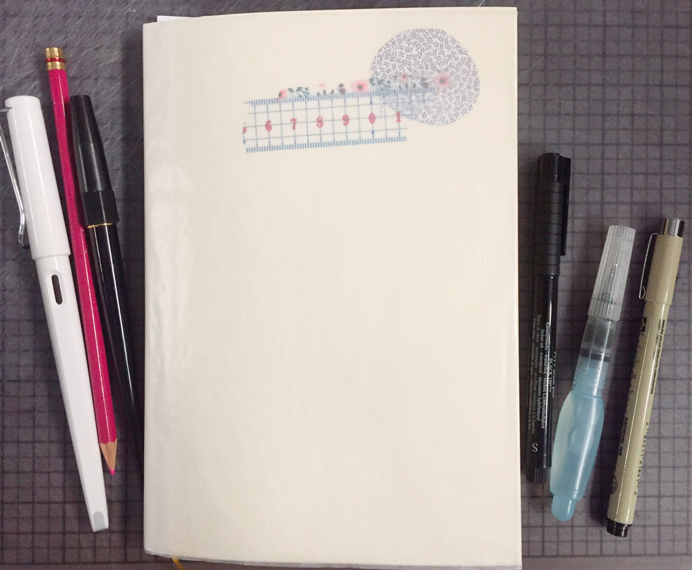 Midori MD Notebook cover
