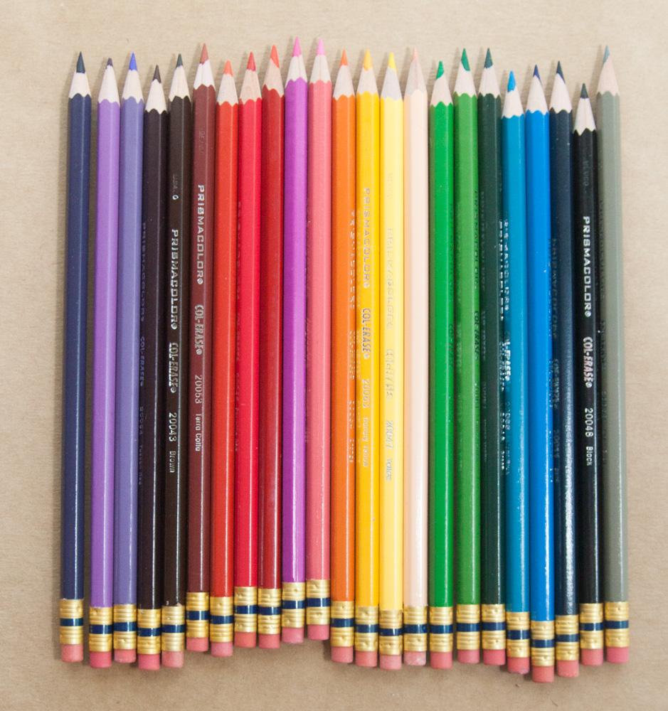 Prismacolor Col-Erase Pencils