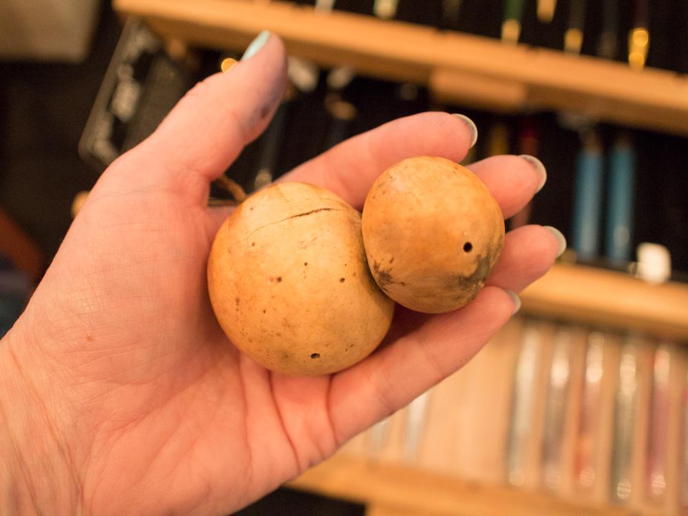 Actual oak galls