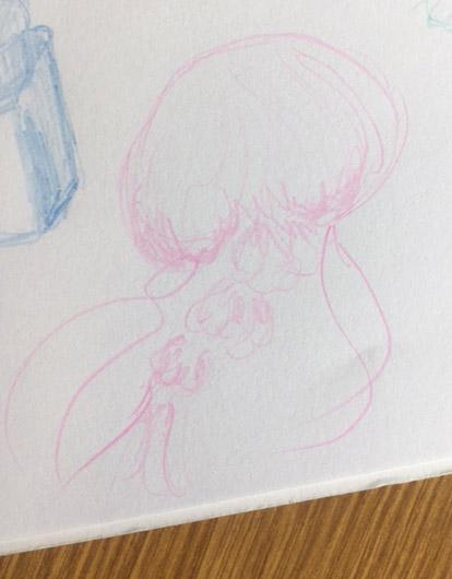 Pilot Color Eno Colored Pencils Pink Jelly Fish