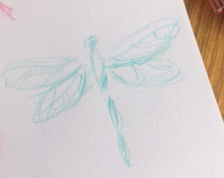 Pilot Color Eno Colored Pencils Cyan Dragonfly