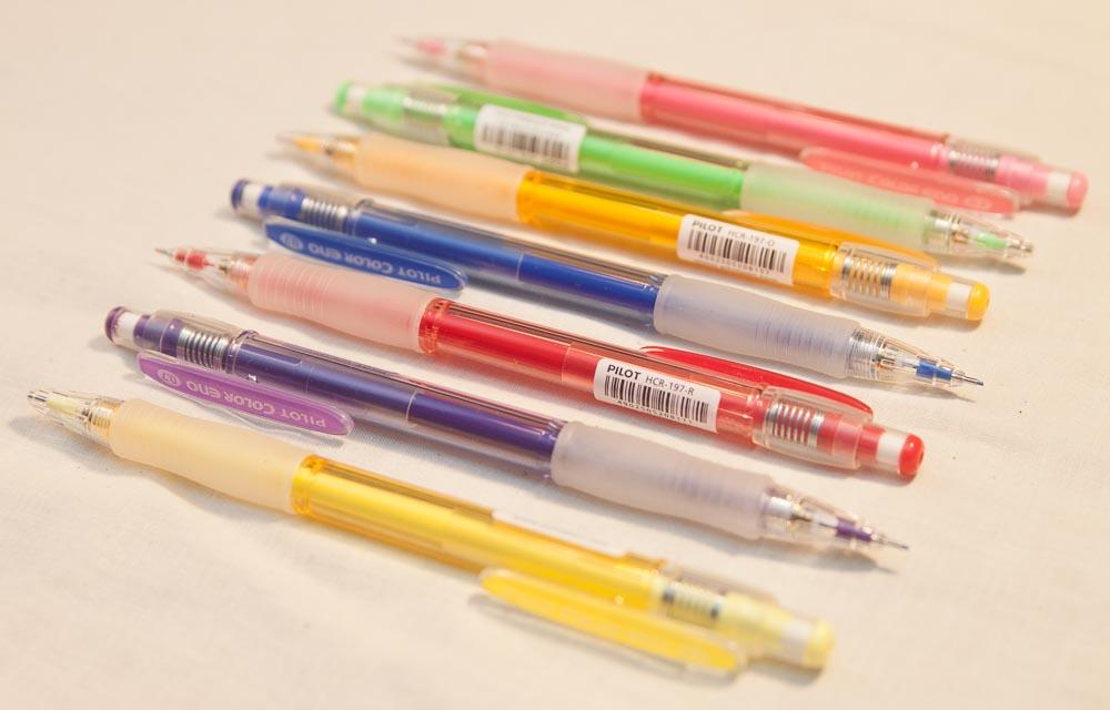 Pilot Color Eno Colored Pencils