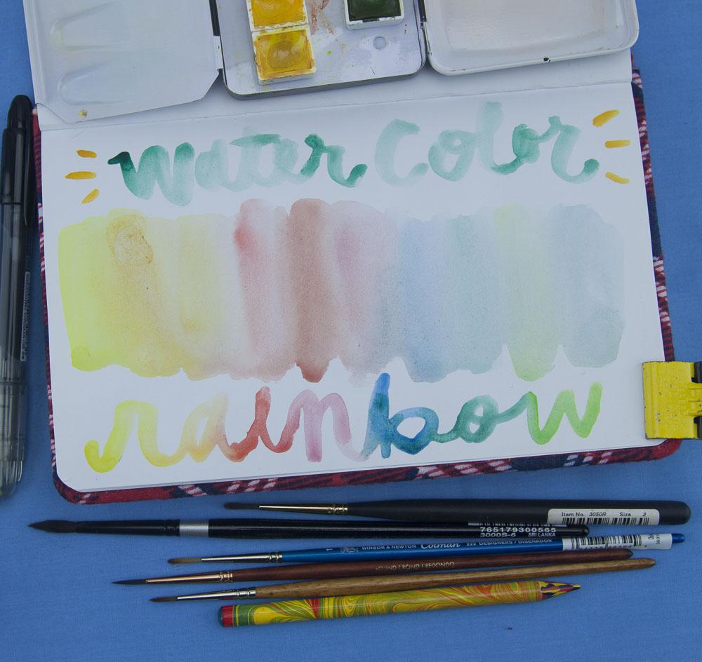 Denik Watercolor