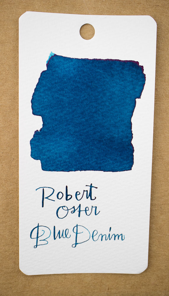 Robert Oster Blue Denim Swatch
