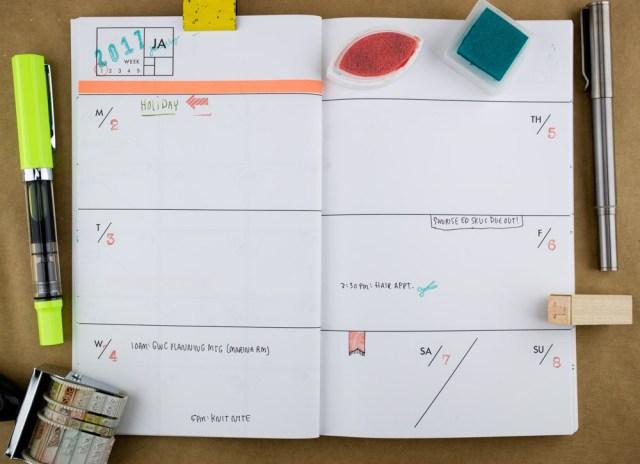 Ferme à Papier Yearless Planner