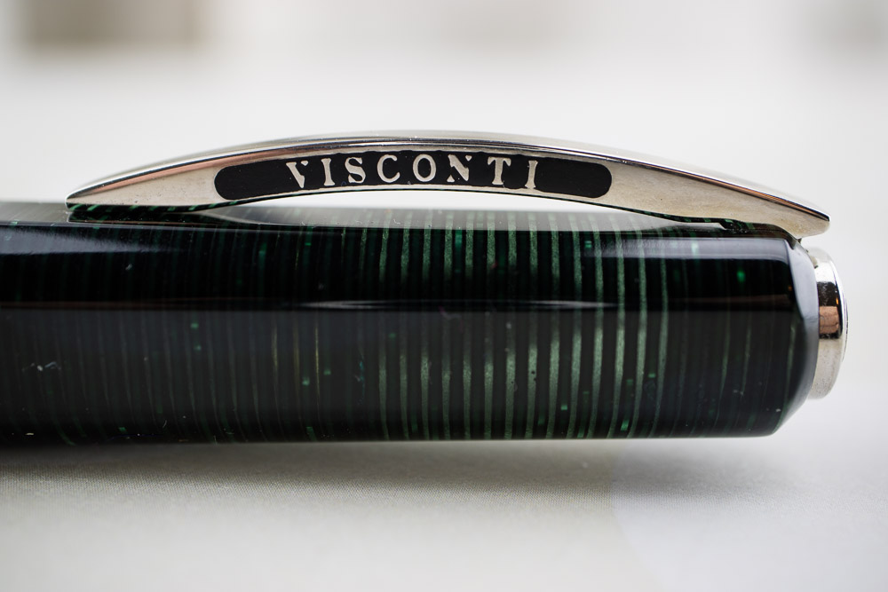 Visconti Wall Street Green Pearl Limited Edition Cap