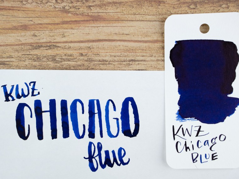 Ink Review: KWZ Chicago Blue
