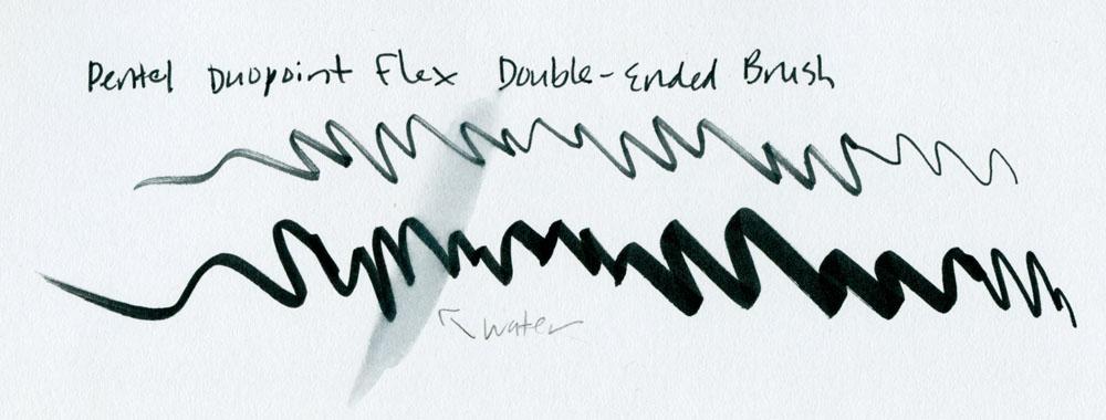 Pentel Duopoint Flex scribbles