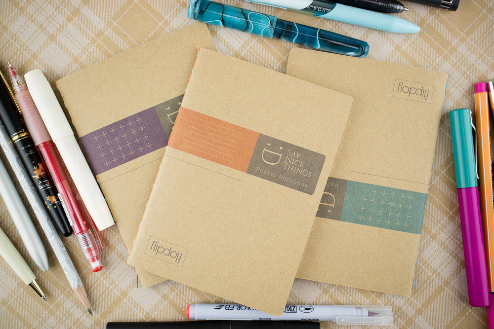 FlipFlop Pocket Notebooks