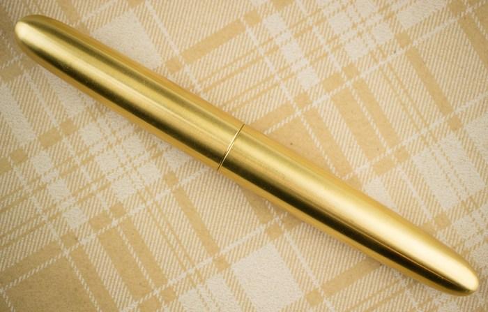 PIUMA Minimal brass fountain pen