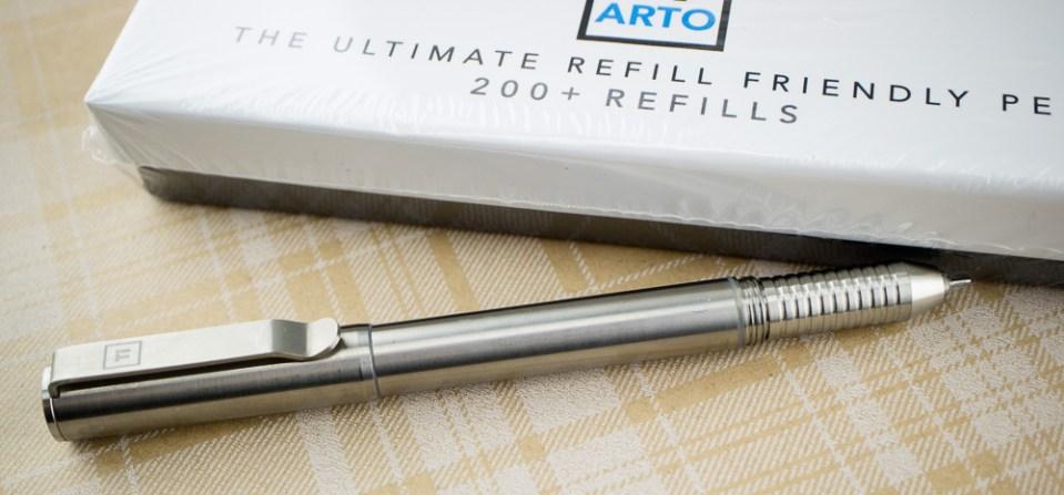 Giveaway: BigiDesign Ti Arto Refill Friendly Pen