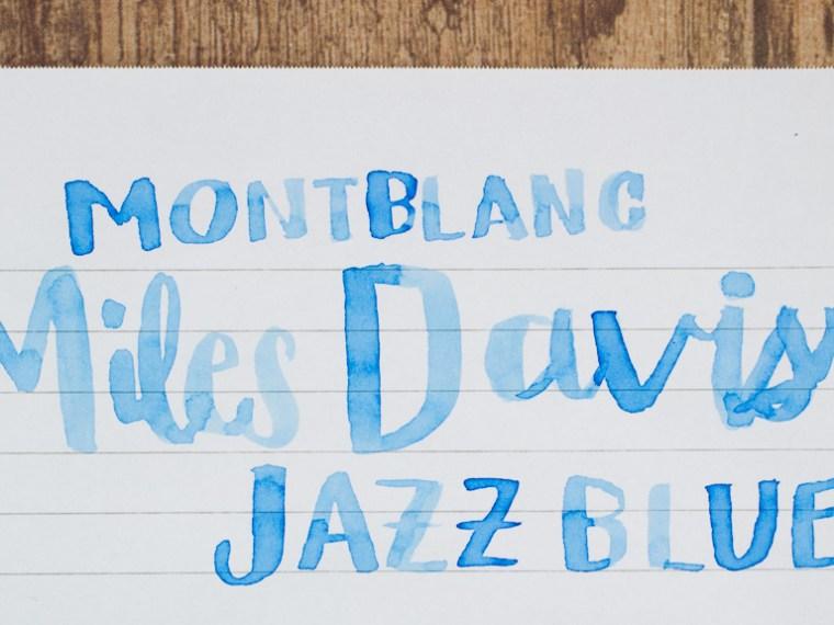 Ink Review: Montblanc Miles Davis Jazz Blue